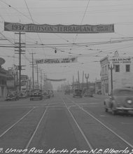 A photo from what is now Martin Luther King Boulevard and Alberta Street from 1937.