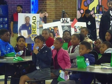 A group of students from Simon Elementary School in Southeast discovered recently that reading is not only fundamental but can ...