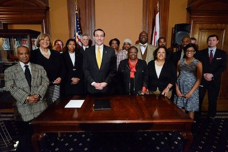 D.C. Mayor Vincent Gray officially signed legislation Monday to push forward with the development of the Skyland Town Center, authorizing ...