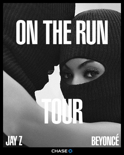 Jay Z & Beyoncé announce their ON THE RUN Stadium Tour kicking off in Miami on June 25th.