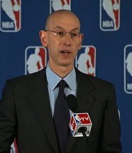NBA Commissioner Adam Silver announced Tuesday, April 29, 2014, that LA Clippers owner Donald Sterling is banned for life and being fined $2.5 million for his racist remarks.