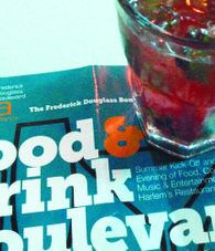 Food. Drink. Frederick Douglass Boulevard