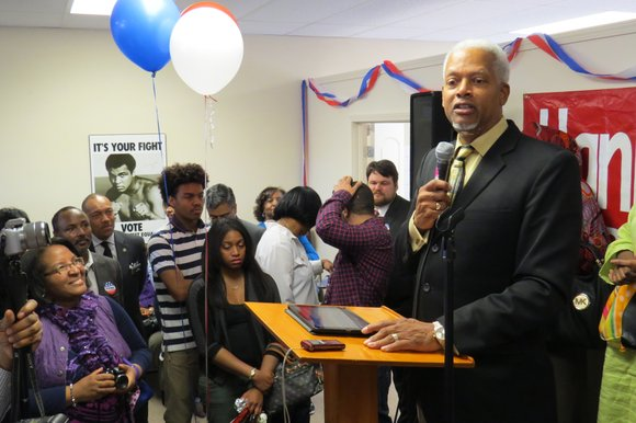 In his almost eight years in Congress, Hank Johnson says he has stood tall for the 4th District, supporting President ...