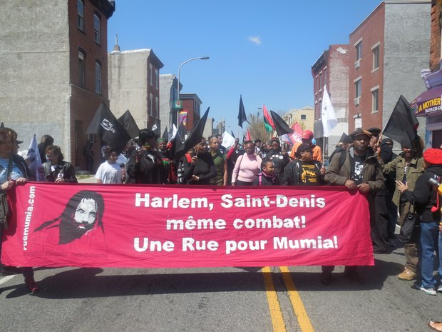 Mumia's 60th birthday in Philly