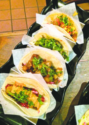 Orale tacos assortment