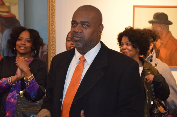 With less than two weeks remaining in the mayoral race for Newark, N.J., candidate Ras Baraka took time out from ...