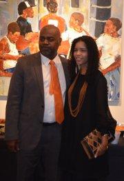 Ras Baraka with Rukia Lumumba