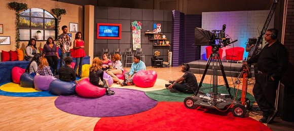 """""""The Bridge!"""" a new teen entertainment and variety talk show, premieres May 10 on educational access channel PDS-TV24."""