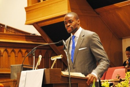 Historic Metropolitan AME Church on M Street NW provided the setting on Saturday, April 26, for a high-profile launching of ...