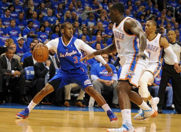 OKLAHOMA CITY -- Chris Paul and the Los Angeles Clippers showed what they can do when their minds are on ...