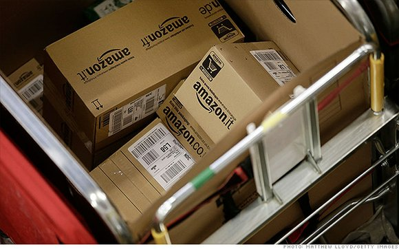 An apparent effort to siphon more business from retail competitors, the online ordering giant Amazon is offering discounts to welfare ...