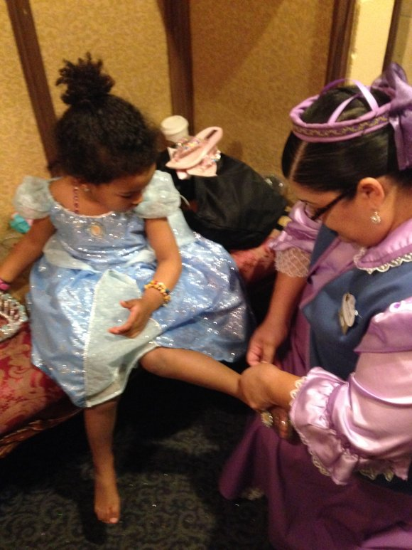 At Disney World, there are princesses everywhere. It's a part of what dreams are made of.