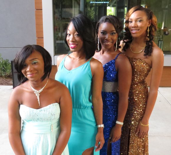 "For three Southwest DeKalb High students, their April 26 prom was ""amazing."""