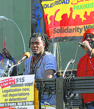 2014 May Day rally