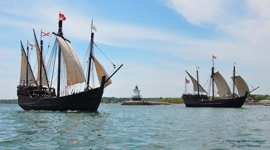 """The """"Nina"""" was built completely by hand and without the use of power tools. Archaeology magazine called the ship """"the ..."""