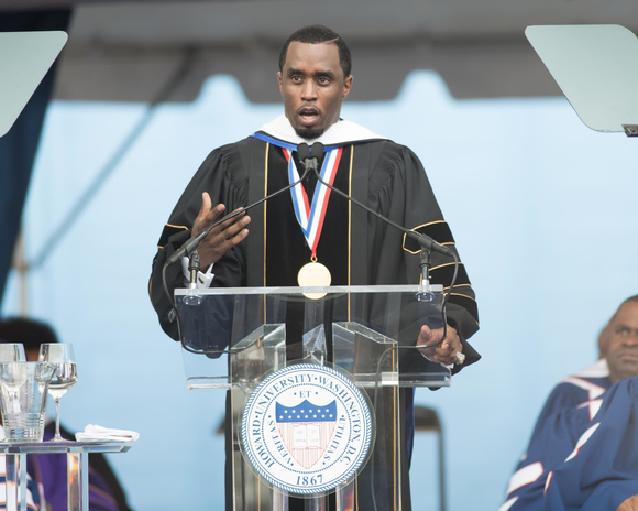 Entrepreneur and philanthropist Sean Combs, who presented the commencement address at Howard University to more than 2,600 students on Saturday, ...