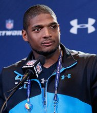 Michael Sam, was drafted by the St. Louis Rams to become the NFL's first openly-gay player./ Courtesy Photo
