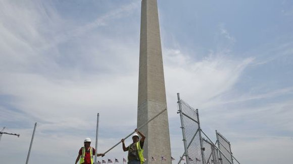 The Washington Monument is set to reopen to the public on Monday for the first time after an earthquake in ...