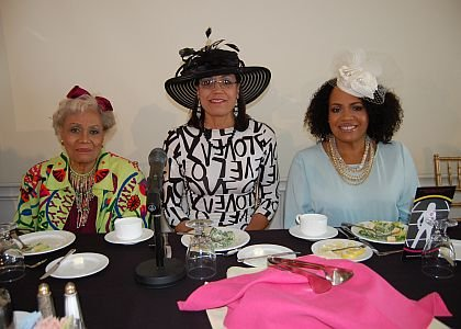 Trudy Haynes, left, Valerie Still and Lisa Price.