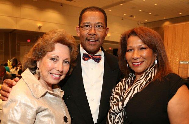 Supervisor Josie Gonzales, Dr. Harkless & Guillermina Hall