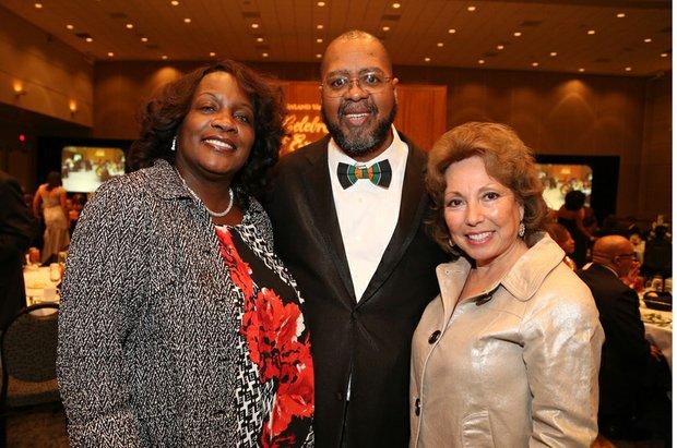 Fontana Mayor Warren, IVN Publisher Tommy Morrow & Sup. Josie Gonzales