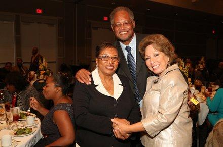 Assemblymember Cheryl Brown, Dr. Henry Shannon & Sup. Josie Gonzalez