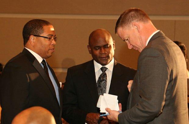 Hardy Brown II, Byron Reed & Dr. Dale Marsden
