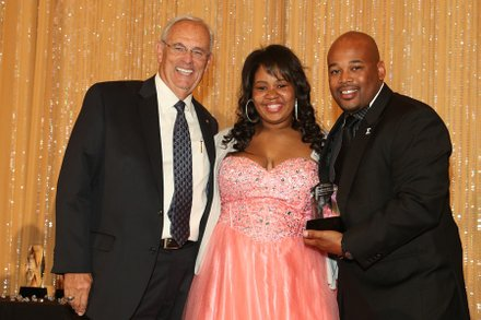 Gary George, Kelly Erving & Rev. Frank Oliver