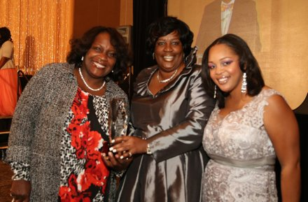 Mayor Warren, Kim Carter & IVN Co-Publisher Ta Lese Morrow