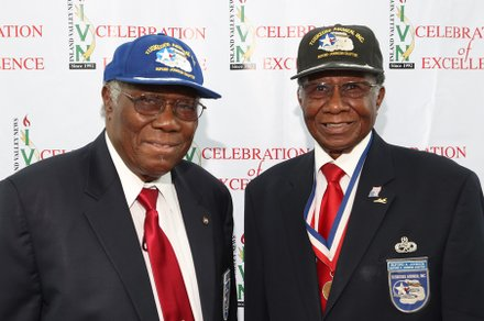 Tuskegee Airman Edison Marshall & Buford Johnson