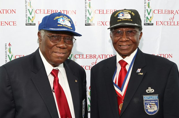 Tuskegee Airman Edison Marshall & Buford Johnson