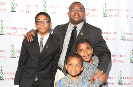Leo Stallworth and family