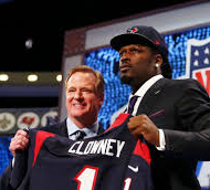 It came as no surprise when the Houston Texans had selected Jadeveon Clowney with the first overall pick. /Courtesy Photo