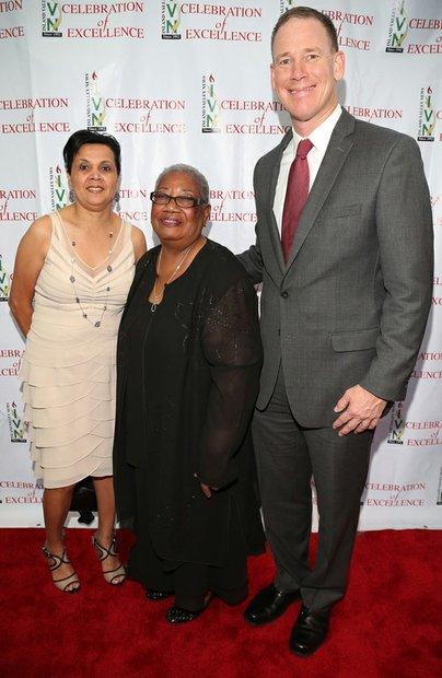 Guest, Dr. Margaret Hill (center) and Dr. Dale Marsden