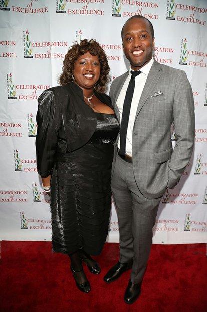 Vincent Jones & his mother