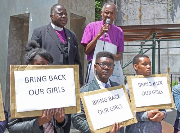 A group called the Clergy Alliance to Save Abducted Nigerian Children announced that they will hold a daily prayer vigil ...