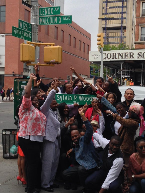 Sylvia Woods, the Queen of Soul Food, has her Harlem street named after herself.