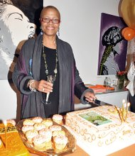 Terrie Williams surprise birthday party