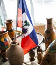 Ayiti Marche also features a variety of handcrafted items.