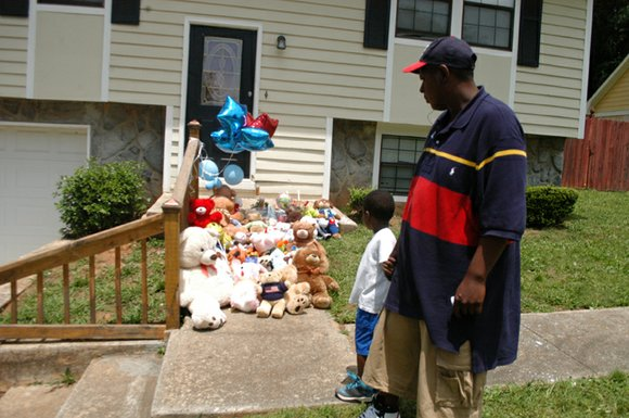 A string of gun violence in Stone Mountain culminated May 10 in the death of a 9-month-old baby boy.
