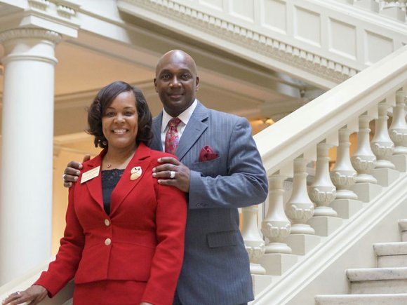 Stone Mountain couple Gregory and Jacqueline Adams are seeking seats on the DeKalb Board of Commissioners and in the Georgia ...