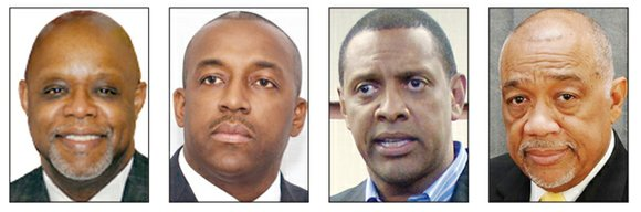 Four of the eight candidates seeking the high-profile DeKalb Sheriff's Office top job have loaned themselves $61,665 in pursuit of ...