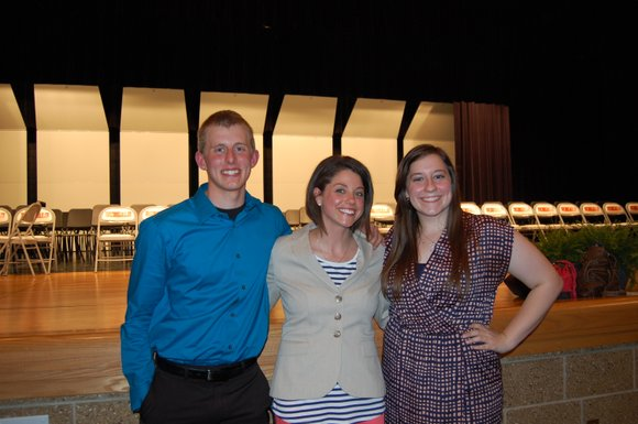 The scholarships are awarded in the memory of Erin Olmstead, sister of a Plainfield East High School teacher, who was ...
