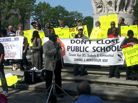 A spokesperson for Empower DC said the group recently returned to court to prove the city unjustly closed 15 District ...