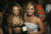 Hennessy girl with Houston Style Magazine's and Team Hennessy's Spoiled Latina
