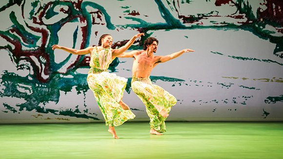 "The spirit of spring animates the latest production of world-renowned choreographer Mark Morris, ""Acis & Galatea."" Mingling the arts of ..."
