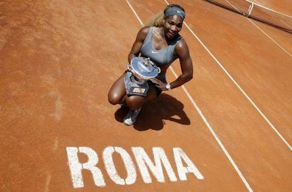 Serena Williams dominated against Sara Errani in efforts to win her third Italian Open title. Williams has won this tournament ...
