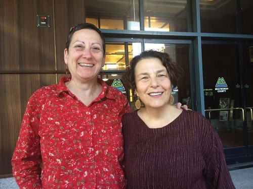Cindy Joseph and B.G. Goldberg picked up their marriage license Monday and headed to the Melody Ballroom to tie the knot as a same-sex couple, a constitutional right they waited 30 years to receive.