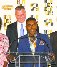 Chef Marcus Samuelsson announces the Harlem EatUp! festival