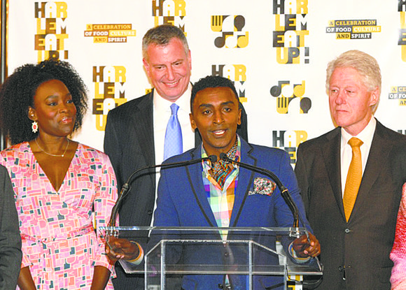 Harlem receives some presidential treatment this week as former President Bill Clinton, along with celebrity chef Marcus Samuelsson and others, ...